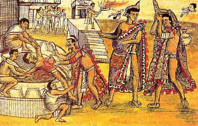 Homosexuality Was Punish... is listed (or ranked) 3 on the list Sexuality In The Aztec Empire Was Actually Even More Repressed Than Puritan England