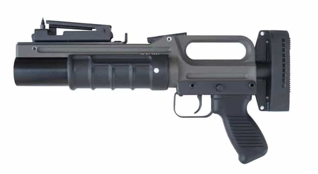 A Loaded Grenade Launcher is listed (or ranked) 3 on the list Weirdest Things Donated to Goodwill