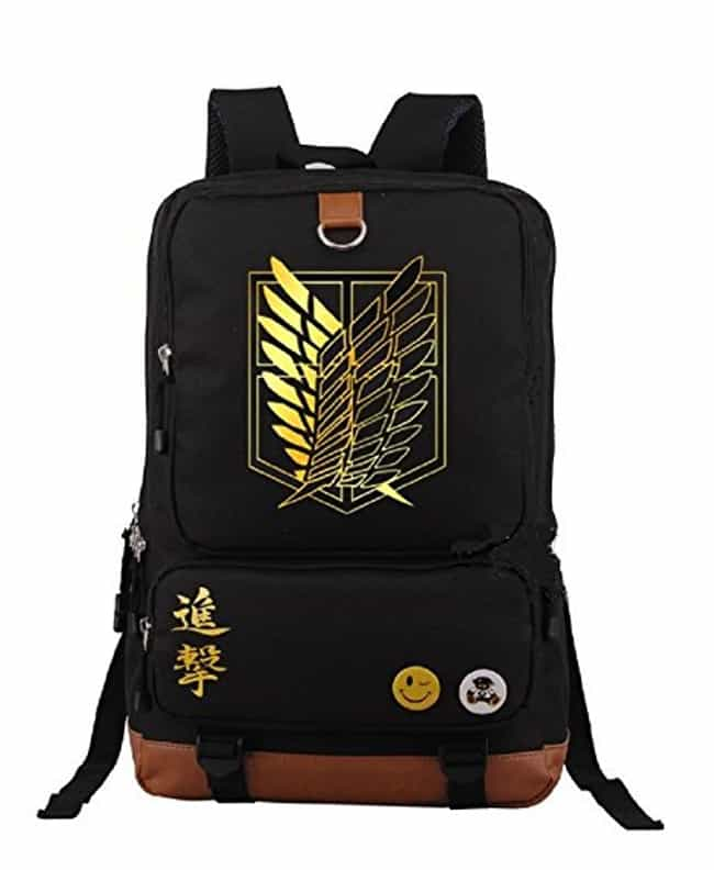 YOYOSHome Attack on Titan Back... is listed (or ranked) 2 on the list The 18 Best Anime Backpacks That Any Otaku Would Rock