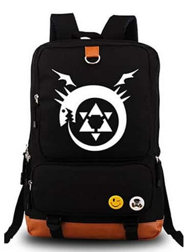 Siawasey® Fullmetal Alchemist  is listed (or ranked) 2 on the list The 18 Best Anime Backpacks That Any Otaku Would Rock