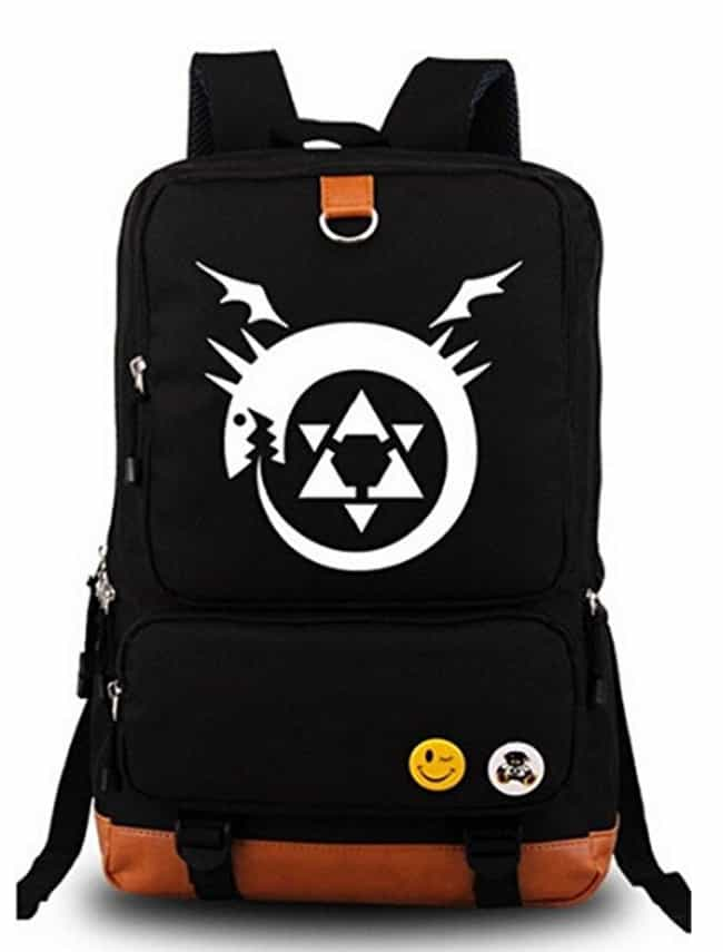 Siawasey® Fullmetal Alchemist ... is listed (or ranked) 3 on the list The 18 Best Anime Backpacks That Any Otaku Would Rock