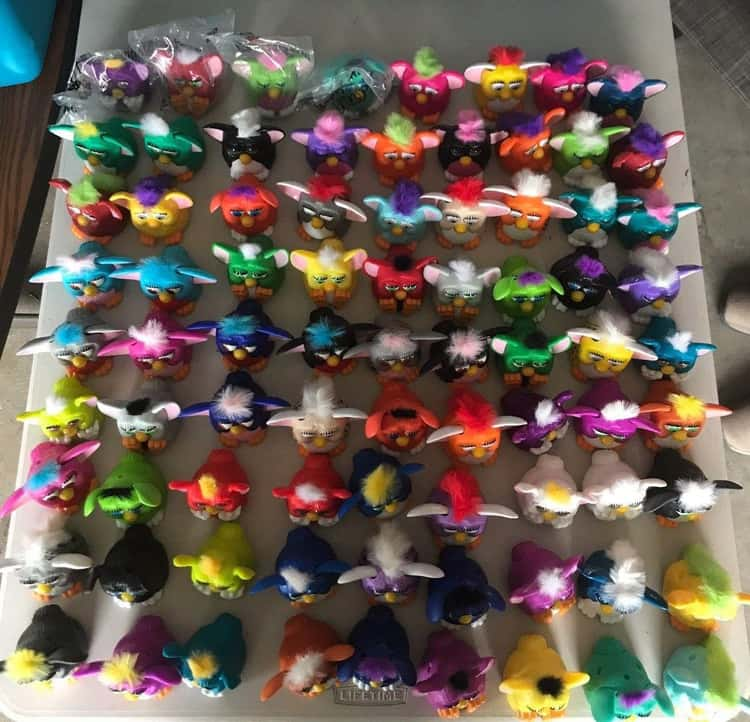 Furby Toy Set: $1,000