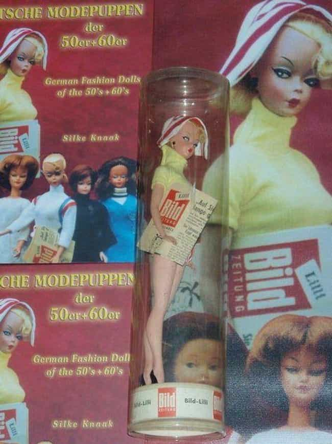 Lilli Was A High-End Cal... is listed (or ranked) 1 on the list Barbie Was Originally Based On An Extremely Risqué German Doll