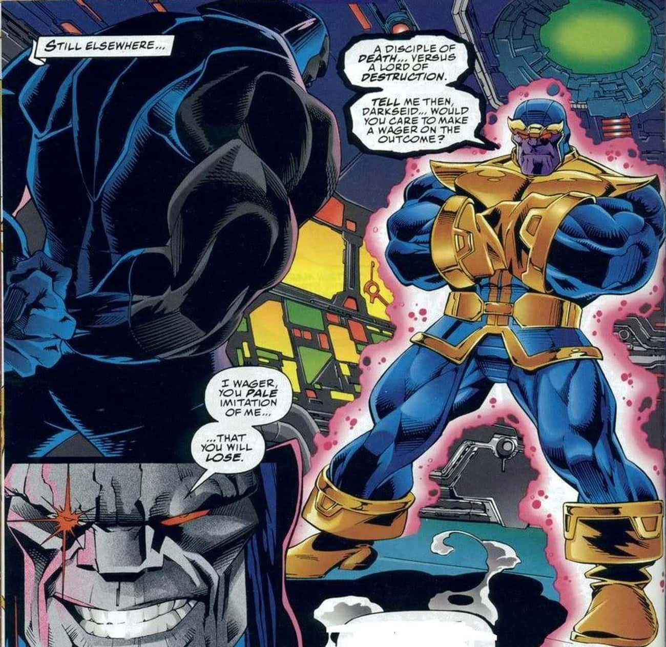 Thanos Is Criticized As A Rip- is listed (or ranked) 1 on the list 13+ Fascinating Things Most Casual Fans Don't Know About Thanos