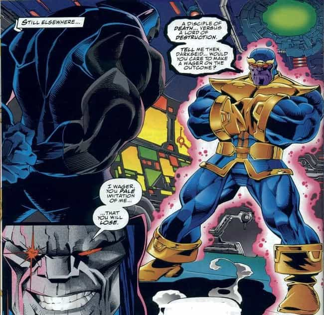 Thanos Is Criticized As A Rip-... is listed (or ranked) 1 on the list 13+ Fascinating Things Most Casual Fans Don't Know About Thanos