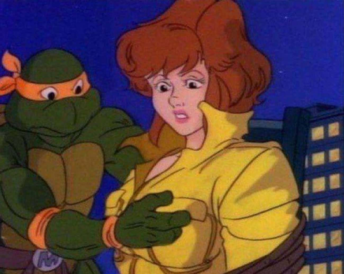 Did Michelangelo Grab April&#3 is listed (or ranked) 2 on the list Dirty Jokes The Teenage Mutant Ninja Turtles Made You Totally Missed As A Kid