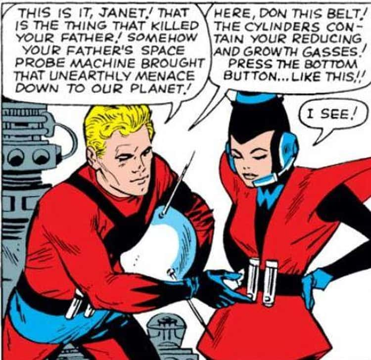 The Wasp's Comic Book History Is Tied To Dr. Henry Pym