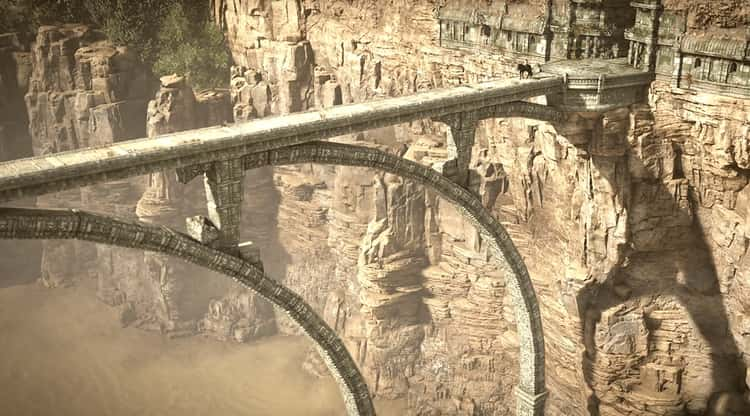'Shadow Of The Colossus' Starts With The Main Character Committing A Sacrilegeous Act By Trespassing On Forbidden Lands