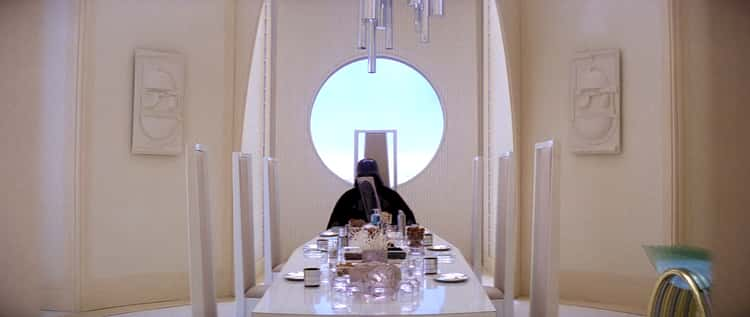 He Sets A Fancy Table For Han And Leia