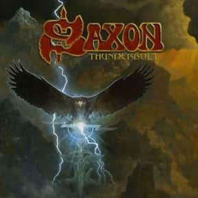 Thunderbolt is listed (or ranked) 11 on the list The Best Saxon Albums of All Time