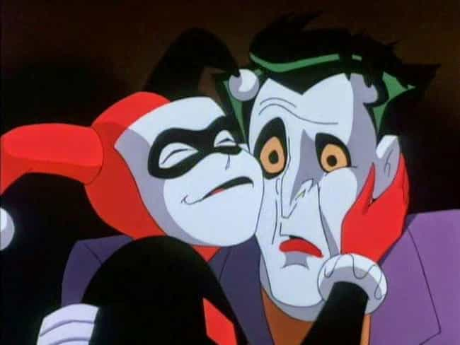 Joker 'Makes Ha-Ha' With... is listed (or ranked) 1 on the list Adult Jokes You Missed In 'Superman: The Animated Series'