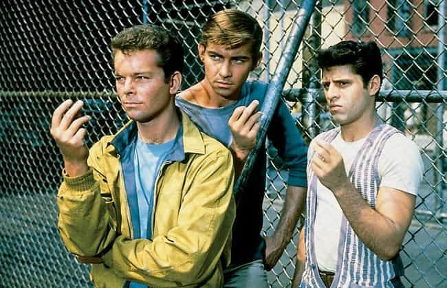 Members Of The Sharks And Jets... is listed (or ranked) 3 on the list The Behind-The-Scenes Of 'West Side Story' Was Plagued With More Hatred Than The Movie Itself