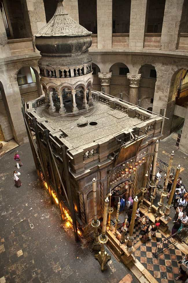 Jesus's Tomb Is Located In... is listed (or ranked) 1 on the list Some Historians Believe They Know The Geographical Coordinates Of Jesus Christ's Crucifixion