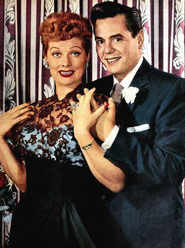 Lucille Ball And Desi Ar... is listed (or ranked) 2 on the list Trailblazing Relationships That Helped To Change The Taboo Against Interracial Marriage
