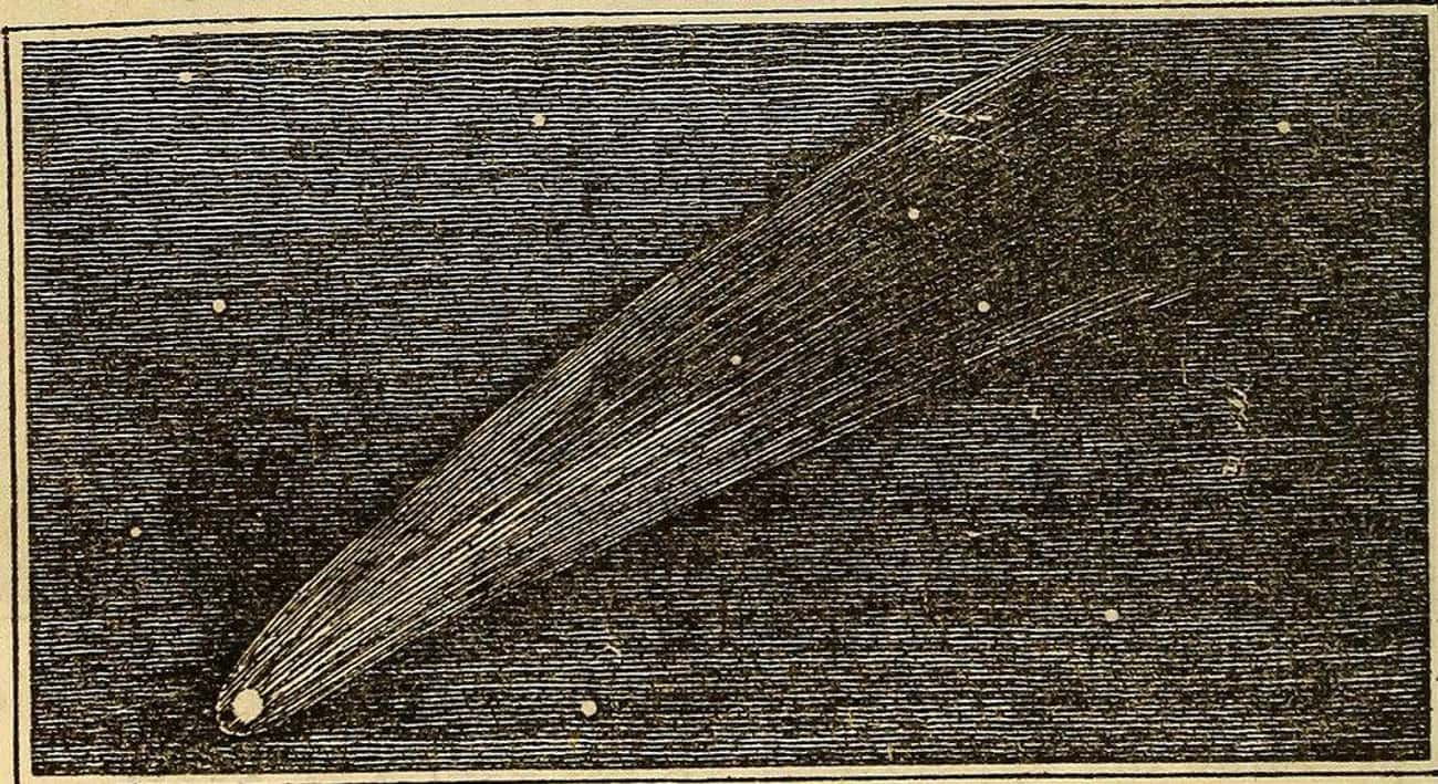 """The Comet May Have Caused A De is listed (or ranked) 4 on the list Halley's Comet Has A Long, Strange History As A """"Supernatural"""" Celestial Object"""