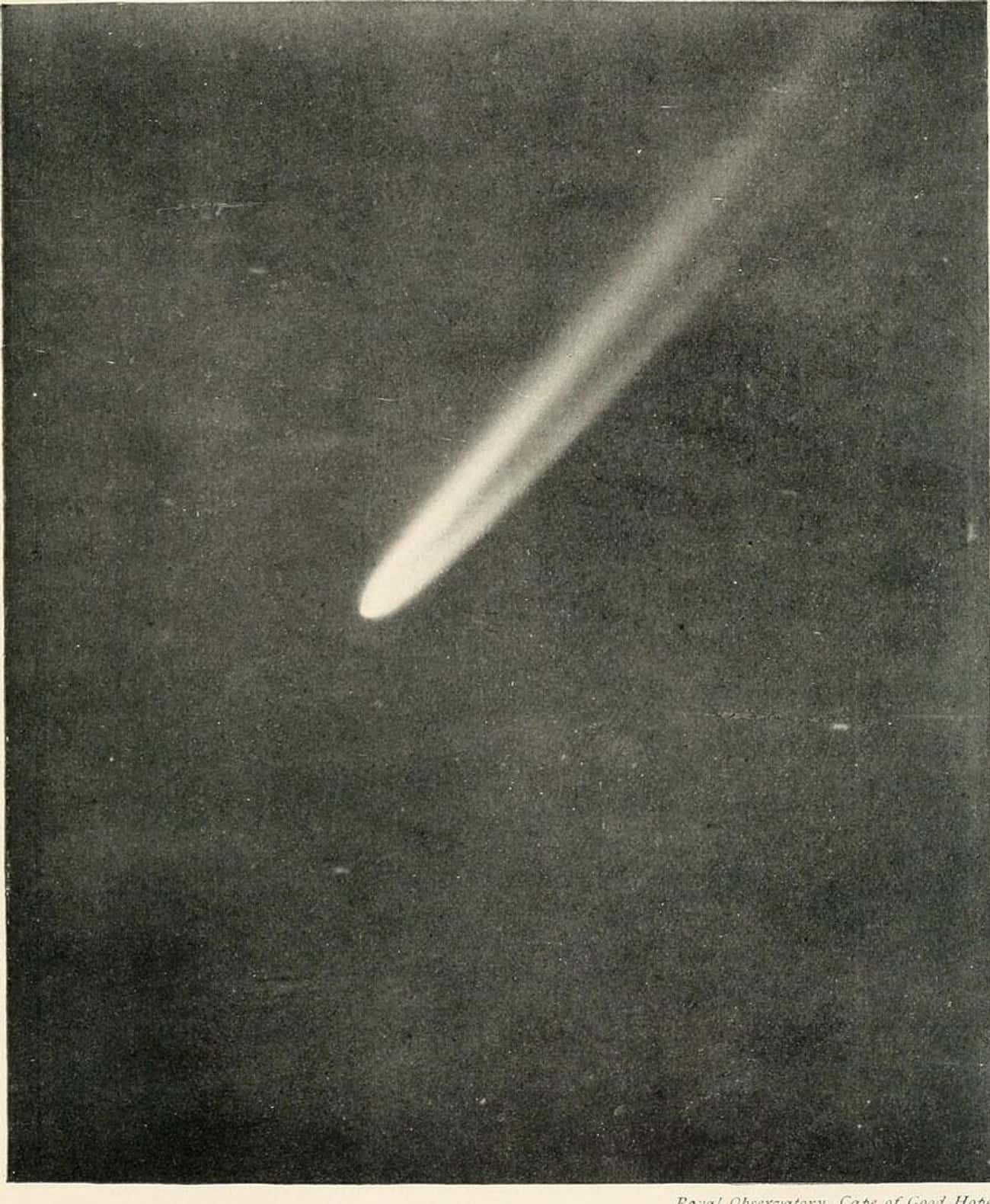 """People Thought The Comet Would is listed (or ranked) 1 on the list Halley's Comet Has A Long, Strange History As A """"Supernatural"""" Celestial Object"""