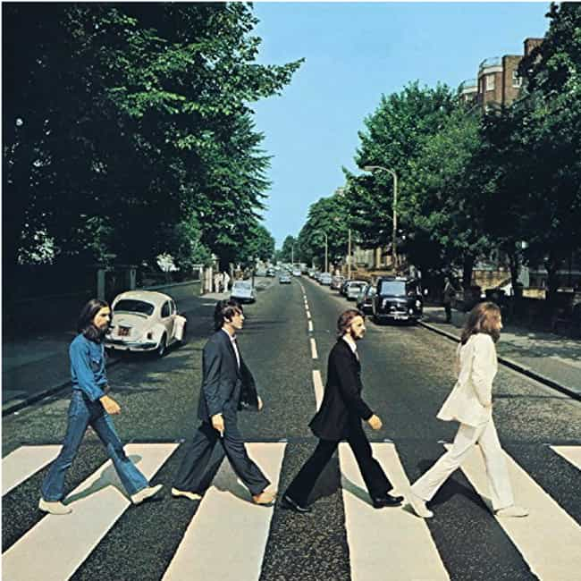 "The Album Cover For 'Abbey... is listed (or ranked) 2 on the list There Are A Lot Of People Who Still Believe Paul McCartney Died In 1966, And Here's Their ""Evidence"""