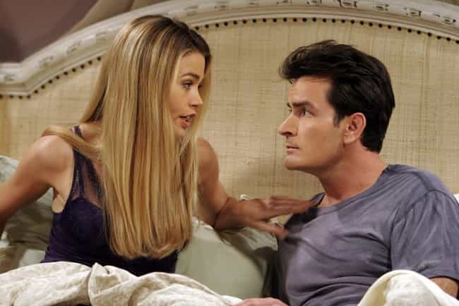 Charlie Sheen Asked Jon ... is listed (or ranked) 3 on the list The Behind The Scenes Drama Of Two And A Half Men Is Even Weirder Than You Imagined