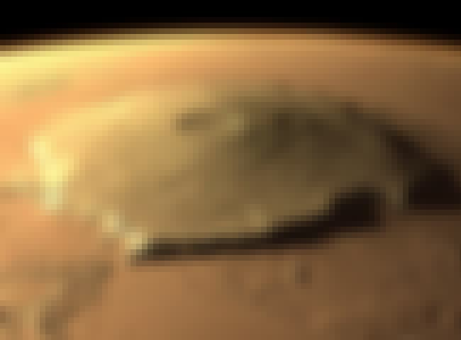 Olympus Mons On Mars is listed (or ranked) 1 on the list Crazy Interesting Geological Formations We've Taken Pics Of On Other Planets