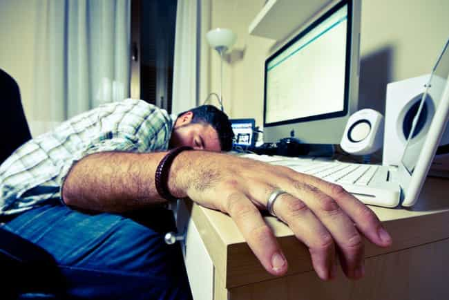 Not Getting Enough Sleep... is listed (or ranked) 1 on the list Things You're Doing That Are Making You Less Attractive, According To Science