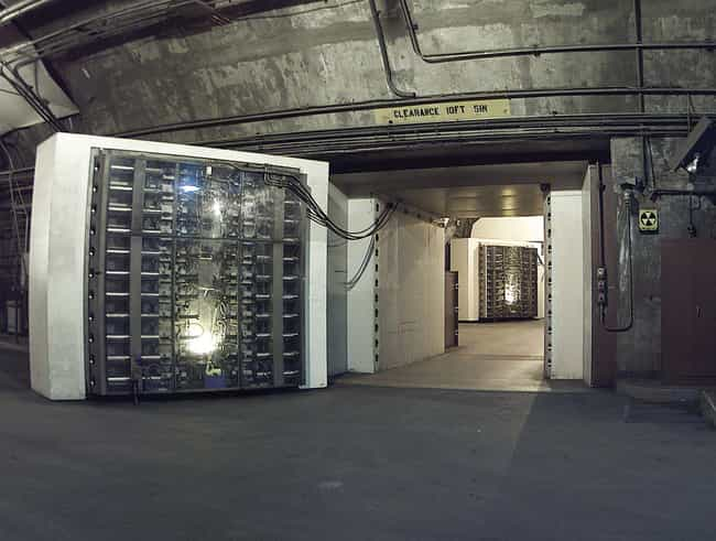 NORAD Mountain Headquarters is listed (or ranked) 4 on the list Secret Lairs More Awesome Than The Batcave