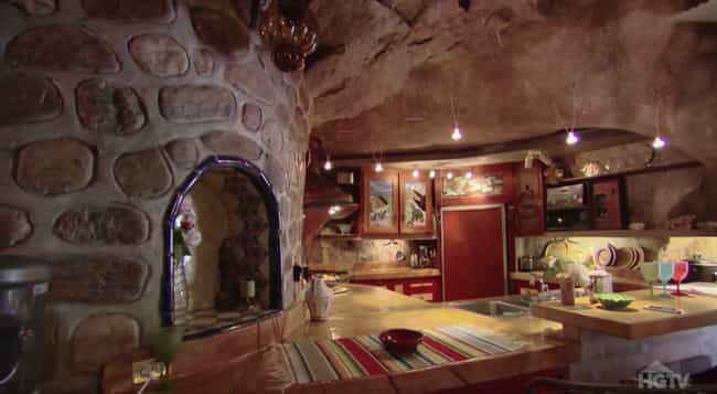 The Chulo Canyon Cave House In... is listed (or ranked) 2 on the list Secret Lairs More Awesome Than The Batcave
