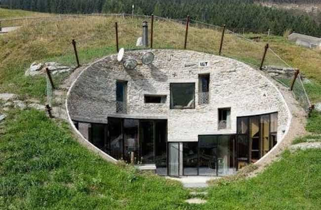 Villa Vals In Switzerland is listed (or ranked) 1 on the list Secret Lairs More Awesome Than The Batcave