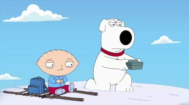 Dog Bites Bear is listed (or ranked) 5 on the list The Most Emotional Family Guy Episodes That Made You Cry