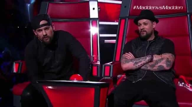 Joel Became A Judge On 'Th... is listed (or ranked) 3 on the list Whatever Happened To Joel And Benji Madden, The Twin Brothers Of Good Charlotte?