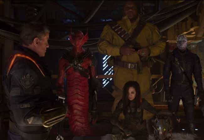 'Guardians Of The Galaxy V... is listed (or ranked) 4 on the list Guardians of the Galaxy Fan Theories