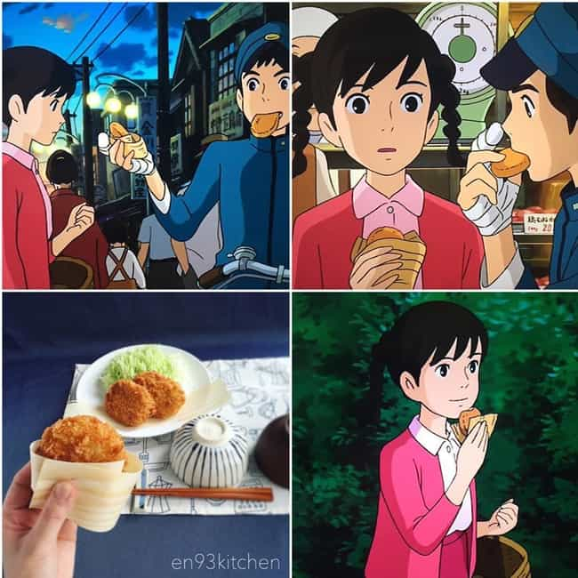 From Up on Poppy Hill's Cr... is listed (or ranked) 4 on the list This Instagram Artist Is Creating Mouthwatering IRL Miyazaki Meals