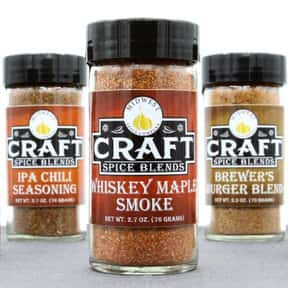 Craft Spice Blends is listed (or ranked) 25 on the list The Best Spice Brands