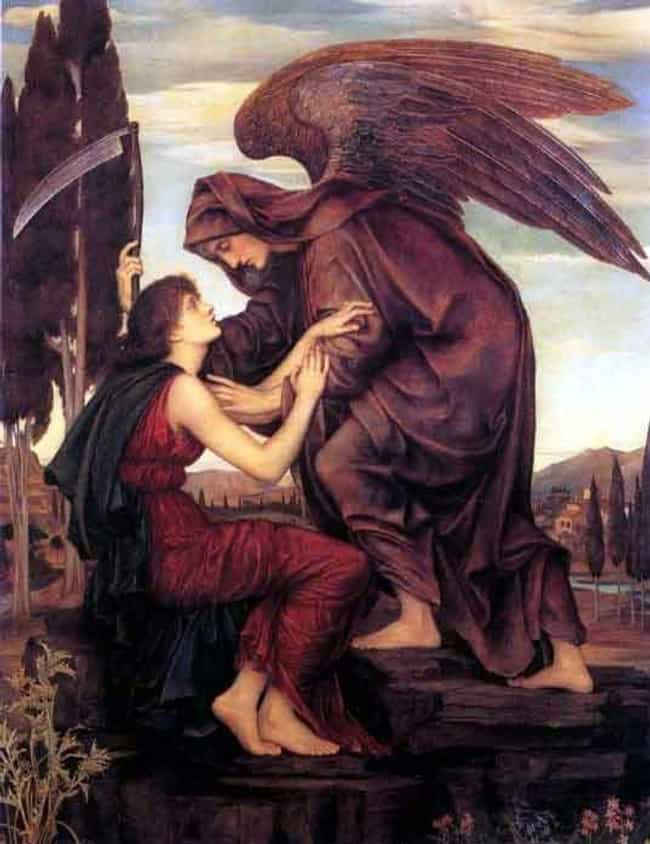 Samael, The Angel Of Death, Ki... is listed (or ranked) 1 on the list This Archangel Of Death Is So Awful That He Was At One Point The Literal Equal Of Satan