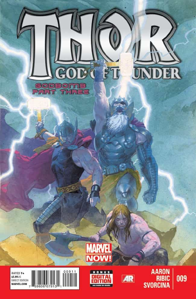 Godbomb is listed (or ranked) 2 on the list The Best Thor Storylines in Comics