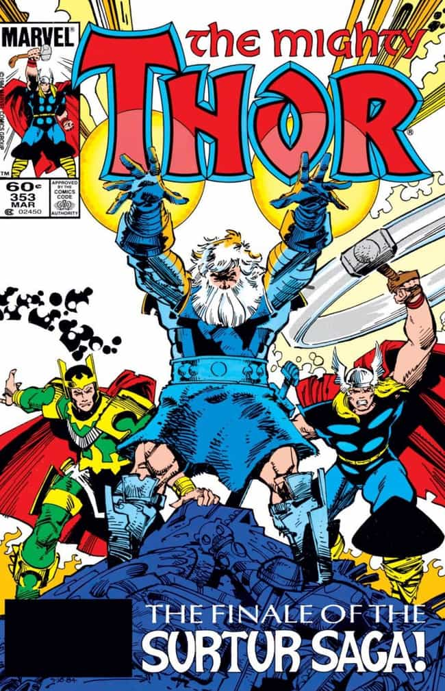 The Surtur Saga is listed (or ranked) 3 on the list The Best Thor Storylines in Comics