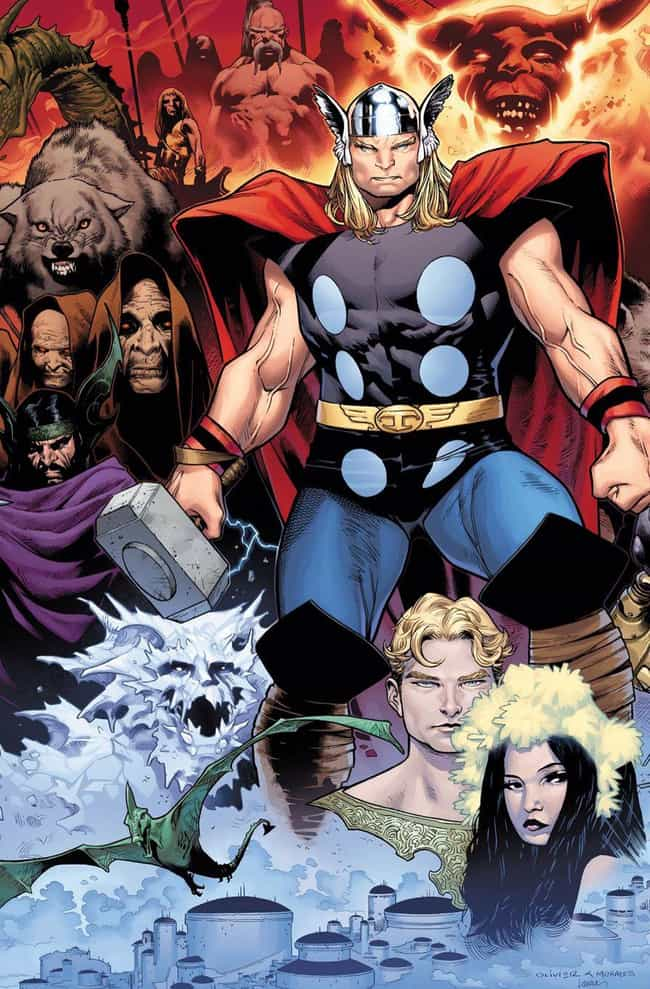 Thor: Tales Of Asgard is listed (or ranked) 3 on the list The Best Thor Storylines in Comics