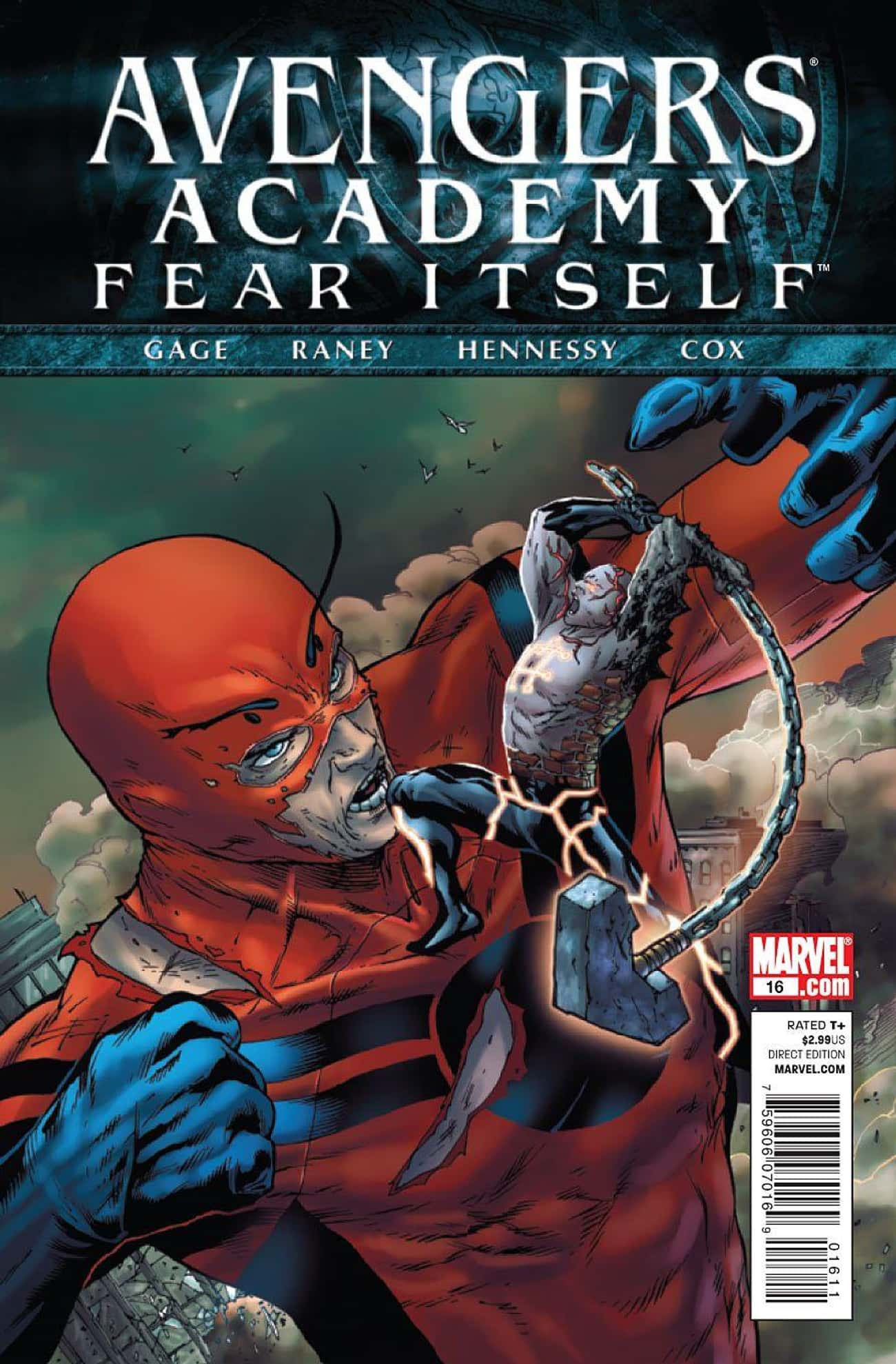 Avengers Academy: Fear Itself is listed (or ranked) 4 on the list The Best 'Ant-Man' Storylines In Comics