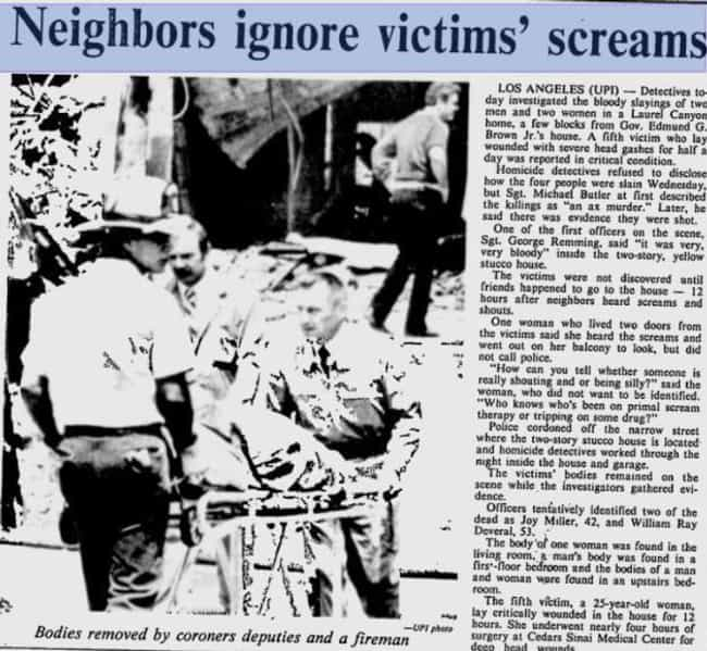 Neighbors Heard Screams, But N... is listed (or ranked) 2 on the list The Unsolved Wonderland Murders Were Arguably The Most Horrific Hollywood Crime Of All Time