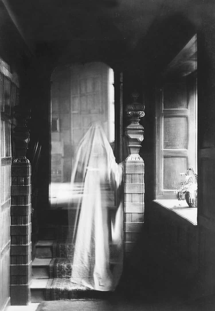 Poltergeist Are Invisible, While Ghosts Make Rare Appearances On Occassion