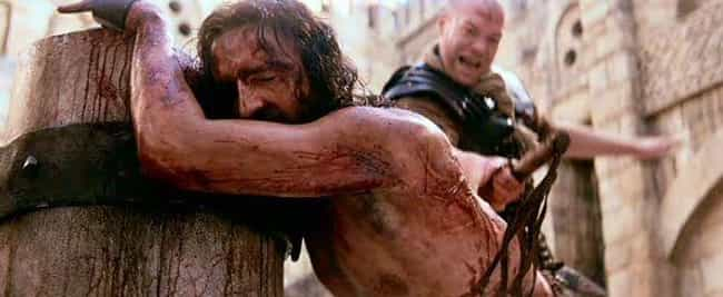 Caviezel Was Actually Wh... is listed (or ranked) 4 on the list Jim Caviezel Literally Got Struck By Lightning On The Set Of Passion Of The Christ