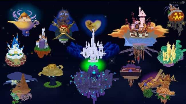 At One Time, All The Disney Wo... is listed (or ranked) 1 on the list Fan Theories About Kingdom Hearts That'll Change How You See The Franchise