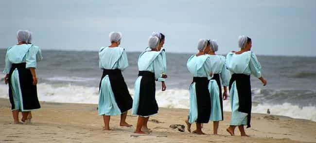 Amish Women Have To Keep... is listed (or ranked) 1 on the list Here Are Some Of The Strict Rules You Must Follow When You're Amish
