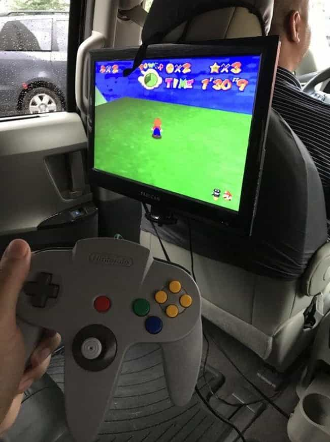 N64 Takes To the Road is listed (or ranked) 4 on the list 24 Uber Drivers Who Totally Deserve Six Stars
