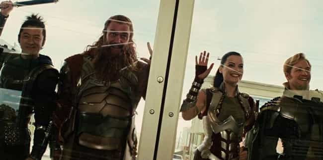 The Warriors Three Were ... is listed (or ranked) 2 on the list Here's What Hardcore Comic Book Fans Don't Like About The MCU