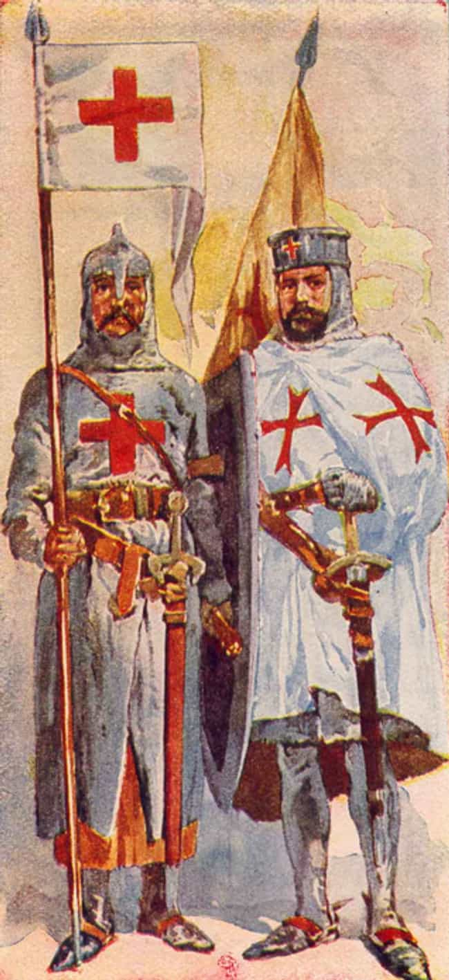 The Knights Templar Were Tortu... is listed (or ranked) 2 on the list You Might Think He's A Depiction Of Satan, But The Baphomet's True Identity Deserves Recognition