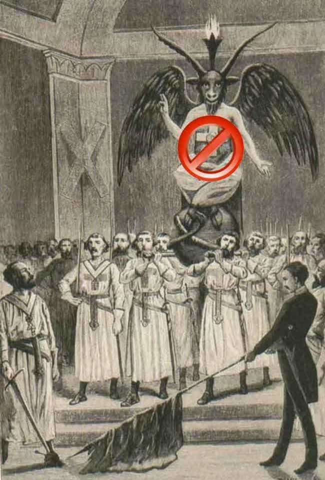 The Baphomet May Have Mysterio... is listed (or ranked) 3 on the list You Might Think He's A Depiction Of Satan, But The Baphomet's True Identity Deserves Recognition