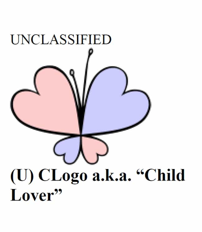 The 'Child Lover' Symbol... is listed (or ranked) 4 on the list Pedophiles Have Their Own Secret Code And They're Using It Right In Front Of You - On Your Children