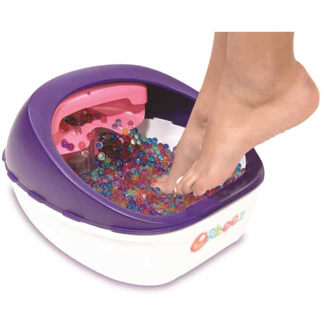Orbeez Foot Spa is listed (or ranked) 3 on the list The Craziest Stuff You Can Buy At Walmart