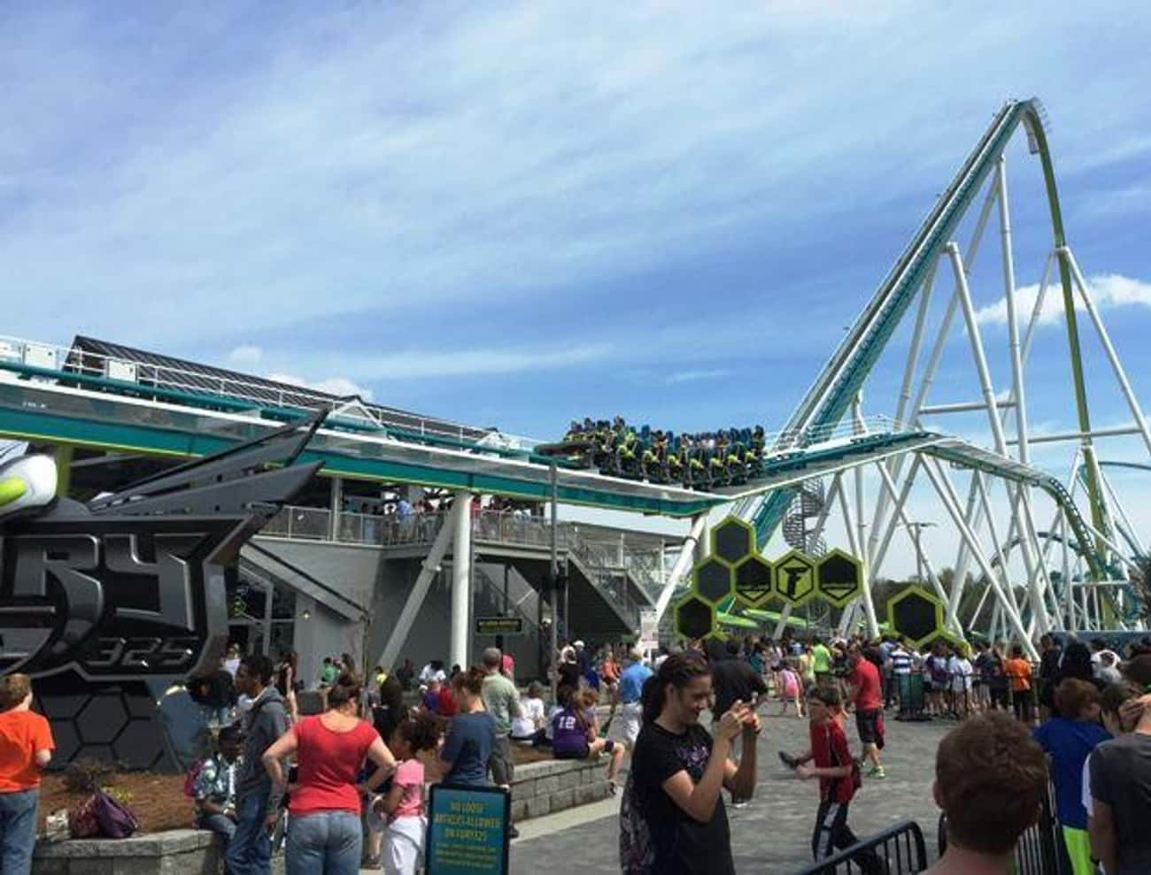 Fury 325 is listed (or ranked) 3 on the list The Best Roller Coasters in the World