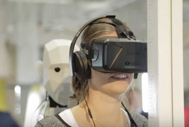 To Simulate The Experien... is listed (or ranked) 1 on the list 13 Weird Things You Didn't Know Virtual Reality Was Being Used For